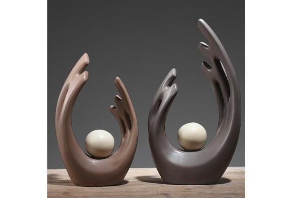 Soprammobili moderni sculture lanterne e piccoli oggetti for Oggetti moderni