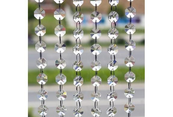 Filo con cristalli decorativi