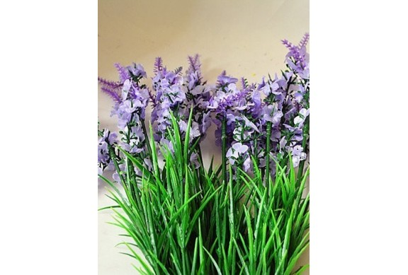 Mazzetto di lavanda artificiale