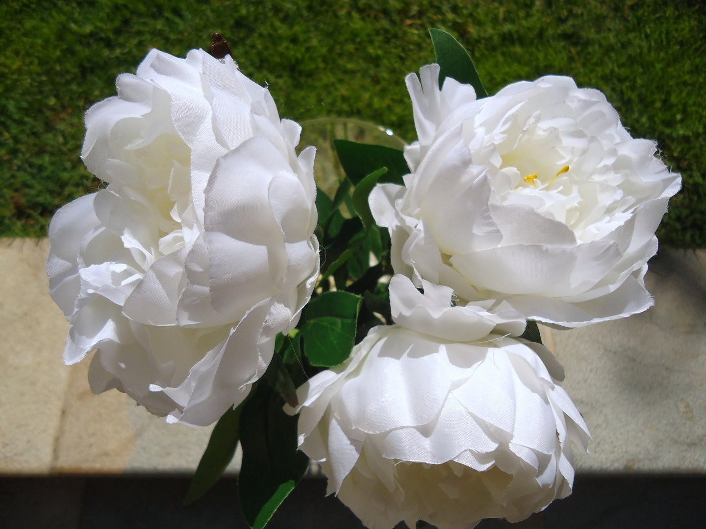 Peonie artificiali decorazioni