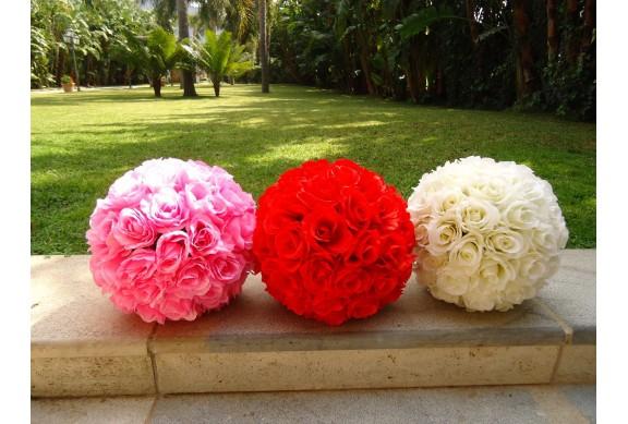 Sfera floreale artificiale