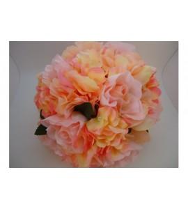 Centro tavola con fiori artificiali