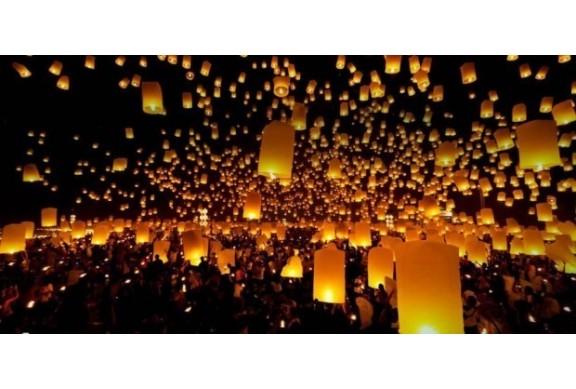 Decorazioni Con Lanterne Cinesi : Mongolfiere e lanterne volanti al matrimonio