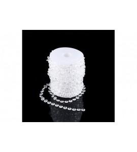 Filo con cristalli decorativi (dimensione grande)