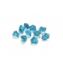 Cristallini acrilico diamanti (vari colori)